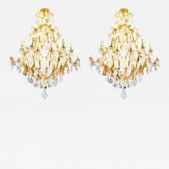 Alexandre Vossion Biggest Pair Of Rock Crystal Lightings in the World By Alexandre VOSSION - 779976