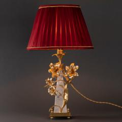 Alexandre Vossion FLOWER LAMP Rock Crystal table lamp - 1397817