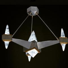 Alexandre Vossion FUJI Rock Crystal chandelier - 1990193