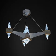 Alexandre Vossion FUJI Rock Crystal chandelier - 1990195