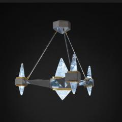 Alexandre Vossion FUJI Rock Crystal chandelier - 1990196