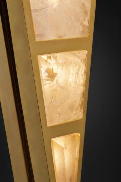 Alexandre Vossion MOON II GOLD EDITION Pair of Rock Cristal wall lights - 1990141