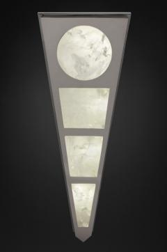 Alexandre Vossion MOON II SILVER EDITION Pair of Rock Cristal wall lights - 1990169