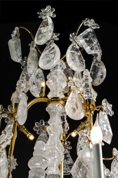 Alexandre Vossion ROCK CRYSTAL LOUIS THE XV TH STYLE CHANDELIER  - 772580