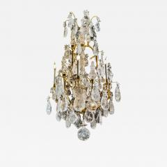 Alexandre Vossion ROCK CRYSTAL LOUIS THE XV TH STYLE CHANDELIER  - 773468