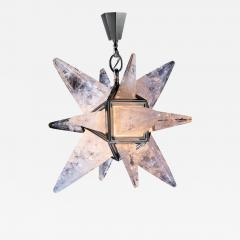 Alexandre Vossion ROCK CRYSTAL STAR II MODEL CHANDELIER SILVER EDITION - 777442