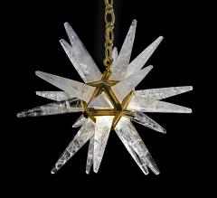 Alexandre Vossion Rock Crystal Star III Chandelier by Alexandre Vossion - 1201347