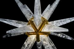 Alexandre Vossion Rock Crystal Star III Chandelier by Alexandre Vossion - 1201350