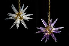 Alexandre Vossion Rock Crystal Star III Chandelier by Alexandre Vossion - 1201351
