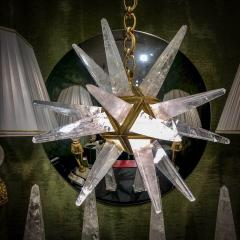 Alexandre Vossion Rock Crystal Star III Chandelier by Alexandre Vossion - 1201354