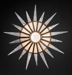 Alexandre Vossion Rock crystal Dream Lighting antique brass edition - 870801
