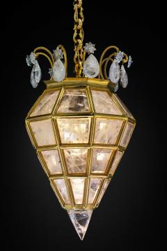 Alexandre Vossion Rock crystal LANTERN DIAMOND MODEL Gold edition - 774124