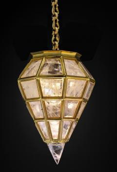 Alexandre Vossion Rock crystal LANTERN DIAMOND MODEL Gold edition - 774136