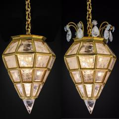 Alexandre Vossion Rock crystal LANTERN DIAMOND MODEL Gold edition - 774552