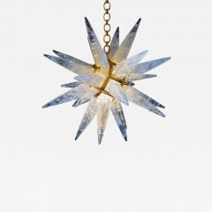 Alexandre Vossion Rock crystal STAR I chandelier gold edition - 773673