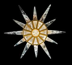 Alexandre Vossion Rock crystal SUNSHINE II lighting MODEL GOLD edition - 893895