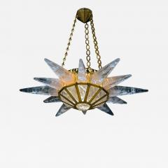 Alexandre Vossion Rock crystal SUNSHINE II lighting MODEL GOLD edition - 894715