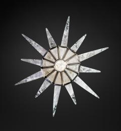 Alexandre Vossion Rock crystal SUNSHINE II lighting MODEL Nickel edition - 772597
