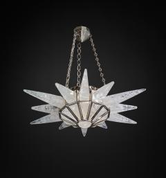 Alexandre Vossion Rock crystal SUNSHINE II lighting MODEL Nickel edition - 772599