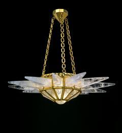 Alexandre Vossion Rock crystal SUNSHINE lighting MODEL gold edition - 771888