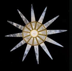 Alexandre Vossion Rock crystal chandelier - 726595