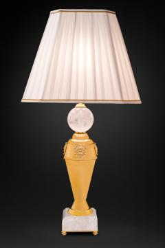 Alexandre Vossion Rock crystal pair of lamps - 778982