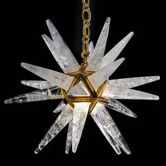 Alexandre Vossion STAR III Rock Crystal Chandelier - 1258301