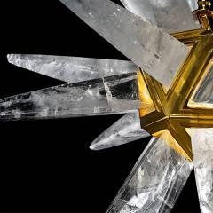 Alexandre Vossion STAR III Rock Crystal Chandelier - 1258302