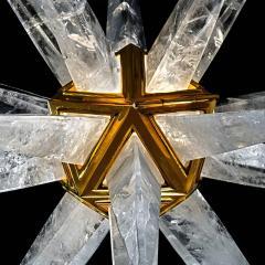 Alexandre Vossion STAR III Rock Crystal Chandelier - 1258303