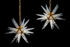 Alexandre Vossion STAR III Rock Crystal Chandelier - 1258316