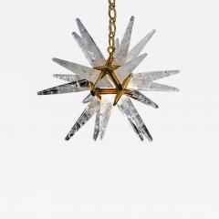 Alexandre Vossion STAR III Rock Crystal Chandelier - 1261703