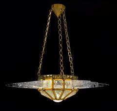 Alexandre Vossion SUNSHINE II Rock crystal lighting Nickel or Gold edition - 1258285