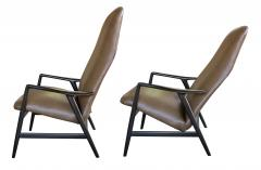 Alf Svensson A Danish Modern Alf Svensson for Fritz Hansen Reclining Lounge Chair - 310065