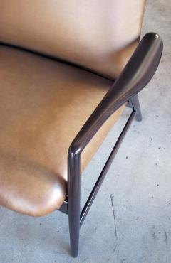 Alf Svensson A Danish Modern Alf Svensson for Fritz Hansen Reclining Lounge Chair - 310077