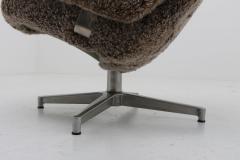 Phenomenal Alf Svensson Scandinavian Midcentury Swivel Chair Contourett Roto By Alf Svensson For Dux Ibusinesslaw Wood Chair Design Ideas Ibusinesslaworg