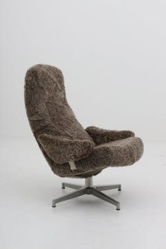 Sensational Alf Svensson Scandinavian Midcentury Swivel Chair Contourett Roto By Alf Svensson For Dux Ibusinesslaw Wood Chair Design Ideas Ibusinesslaworg