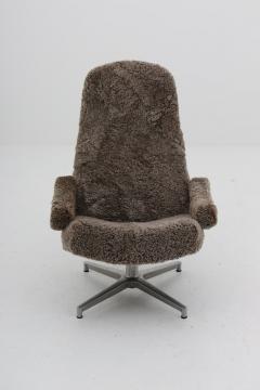 Prime Alf Svensson Scandinavian Midcentury Swivel Chair Contourett Roto By Alf Svensson For Dux Ibusinesslaw Wood Chair Design Ideas Ibusinesslaworg