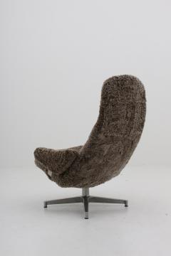 Admirable Alf Svensson Scandinavian Midcentury Swivel Chair Contourett Roto By Alf Svensson For Dux Ibusinesslaw Wood Chair Design Ideas Ibusinesslaworg