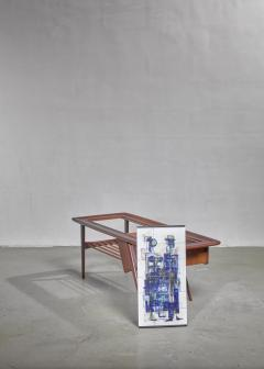 Alfred Hendrickx Alfred Hendrickx Side Table with Ceramic tiles Belgium 1950s - 1047753
