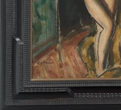 Alfred Henry Maurer Standing Female Nude double sided c 1925 - 84026
