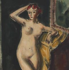Alfred Henry Maurer Standing Female Nude double sided c 1925 - 84027