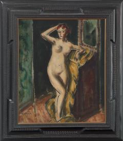 Alfred Henry Maurer Standing Female Nude double sided c 1925 - 84029