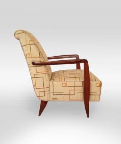 Alfred Porteneuve Pair of Art Deco Armchairs - 503253