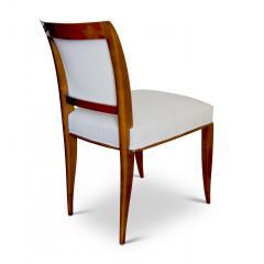 Alfred Porteneuve Pair of elegant Sycamore Chairs by Alfred Portneuve - 1168900