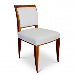 Alfred Porteneuve Pair of elegant Sycamore Chairs by Alfred Portneuve - 1168901