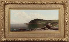 Alfred Thompson Bricher COASTAL SCENE WITH ROWBOAT by Alfred T Bricher - 1121520