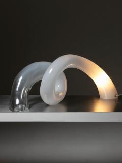 Alfredo Barbini Large Murano Glass Table Lamp by Alfredo Barbini - 1143074