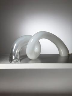 Alfredo Barbini Large Murano Glass Table Lamp by Alfredo Barbini - 1143075