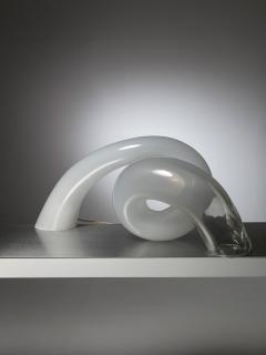 Alfredo Barbini Large Murano Glass Table Lamp by Alfredo Barbini - 1143076