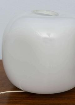 Alfredo Barbini Pair of Italian Modern Glass Lamps Marked Barbini - 348610